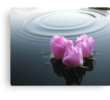 Floating in Peace Canvas Print