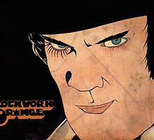 A Clockwork Orange Illustration by joeyg479