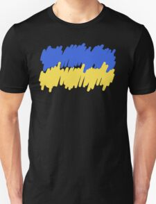 Ukrainian Flag Drawing Unisex T-Shirt