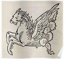 Hic Codex Auienii Continent Epigrama Astronomy Rufius Festivus Avenius 1488 Astronomy Illustrations 0152 Constellations Poster