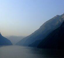 Yangtze River, China by Christina Backus