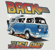 Back to the Island Lost And Back to the Future Spoof