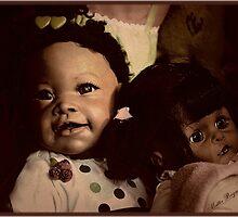 Doll Duo by Mattie Bryant