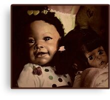 Doll Duo Canvas Print