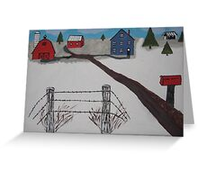 Anna Koss Farm Greeting Card