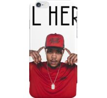 Lil herb tshirt iPhone Case/Skin