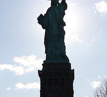 Lady Liberty by Cathy Cale