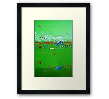 The Green, Green Grass of Home Framed Print