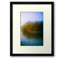 Golden Rememberance Framed Print