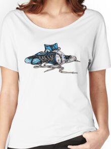 Blue Chucks Women's Relaxed Fit T-Shirt