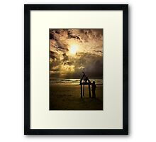 Approaching Storm Framed Print
