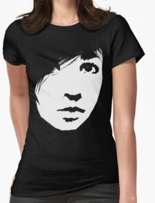 Girl #8 Womens Fitted T-Shirt