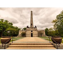 Abraham Lincoln Tomb Photographic Print