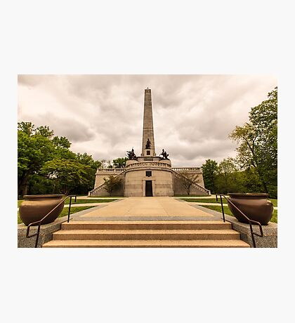 Abraham Lincoln Tomb Photographic Print