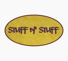 stuff n' stuff - sticker by vampvamp