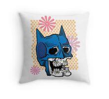 Batman Death Cowl Throw Pillow