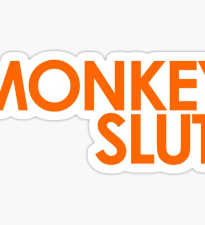 We're Not Having Monkey Slut As A Password Sticker