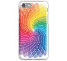 Colour Wheel Flower iPhone Case/Skin