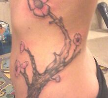 Pink Cherry Blossom Tree by Gary Goza II