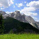 View of the Marmolada by annalisa bianchetti