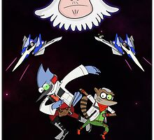 Star Fox x Regular Show by seeohdeewhy