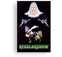 Star Fox x Regular Show Canvas Print