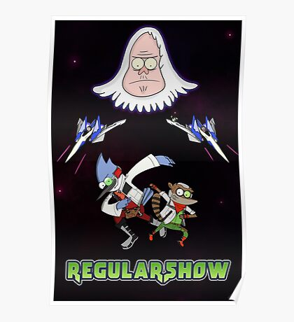 Star Fox x Regular Show Poster