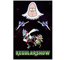 Star Fox x Regular Show Photographic Print