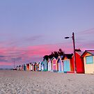 Pink Huts by Thomas Anderson