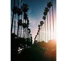 Sunsets in Hollywood Photographic Print