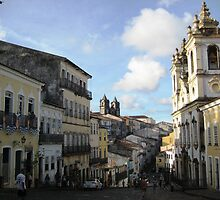 Downtown Salvador by Russell Shearing