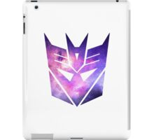 Decepticon Galaxy Insignia iPad Case/Skin