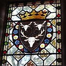 Stained Glass Window - Holker Hall by Marilyn Harris