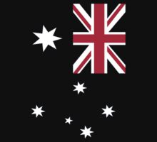Big Aussie Flag by Craig Stronner
