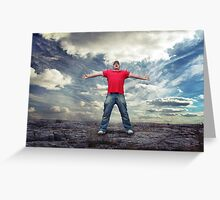 Desire to Succeed Greeting Card