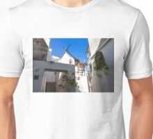 Whitewashed Mediterranean Beauty at Number 17 Unisex T-Shirt