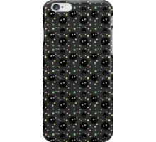 Seamless Soot Sprite Pattern iPhone Case/Skin