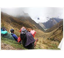 inca trail Poster