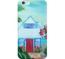 Little House by the Sea iPhone Case/Skin