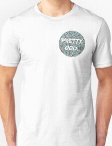 pretty. odd. - white text T-Shirt
