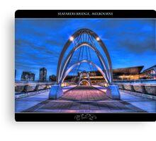 Seafarers Bridge, Melbourne II Canvas Print