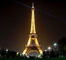 Tour Eiffel - Tourist shot by Ólafur Már Sigurðsson