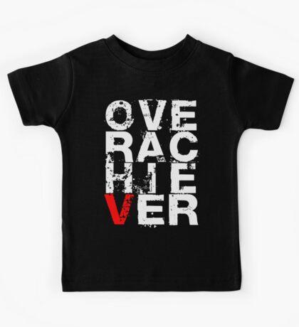 Over Achiever (Dark) Kids Tee