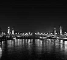 Bridge over Seine by Ólafur Már Sigurðsson