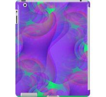 Vaporwave-Soft Fractal Bubbles iPad Case/Skin