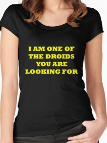 Droids 2 Women's Fitted Scoop T-Shirt