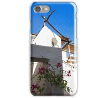 Whitewashed Mediterranean Beauty at Number 17 iPhone Case/Skin