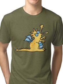 Yellow Magic Dragon Tri-blend T-Shirt