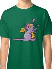 Purple Magic Dragon Classic T-Shirt
