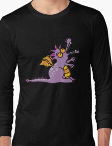 Purple Magic Dragon Long Sleeve T-Shirt